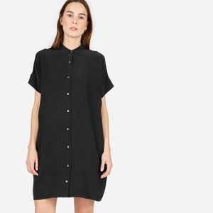 Everlane Silk Shirt Dress Women's Size 8